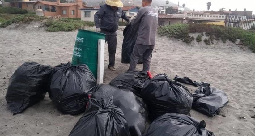 Abunda la basura en zonas de playas