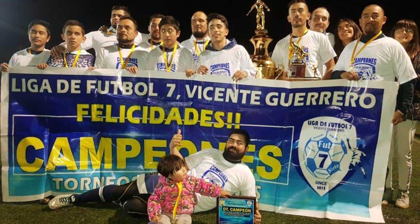 Lobos Plateados obtienen el bicampeonato en fútbol 7