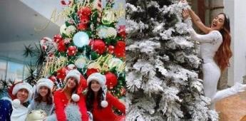 Se llenan los famosos del espíritu navideño y así lo festejan