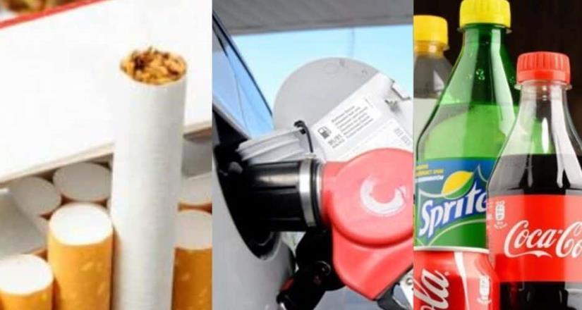 Refrescos, gasolinas y cigarros subirán en 2020