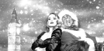Adele presume nueva figura y se roba la Navidad