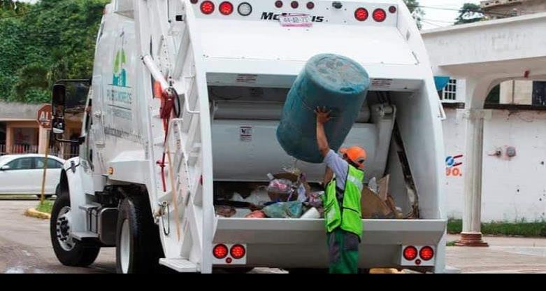 Se suspenderá el servicio de recolección de basura el 25  de diciembre