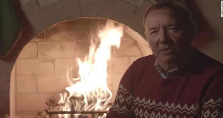 Kevin Spacey regresa como Frank Underwood para desear feliz Navidad