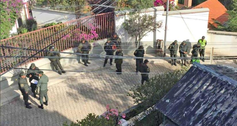 Bolivia acusa a México de tergiversar caso de seguridad de embajada