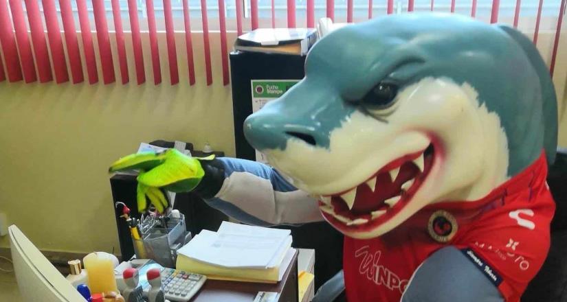 Mascota del Veracruz prepara su CV para pedir trabajo