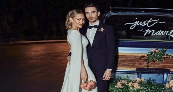 Hilary Duff muestra fotos de su boda con Matthew Koma