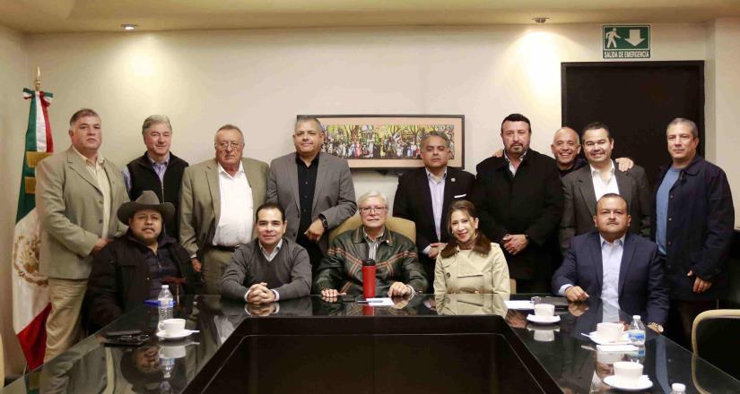 Cierran filas sector empresarial con el gobernador Jaime Bonilla