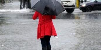 Emiten recomendaciones a la población para protegerse de las lluvias