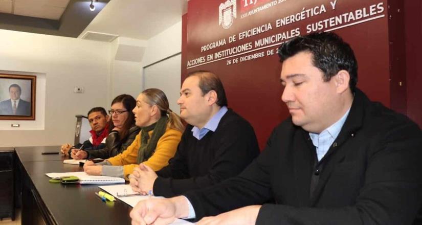 """Presentan """"Programa de Eficiencia Energética y Acciones en Instituciones Municipales Sustentables"""""""