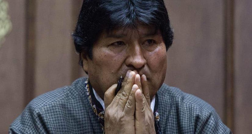 Evo Morales lamenta insultos contra AMLO