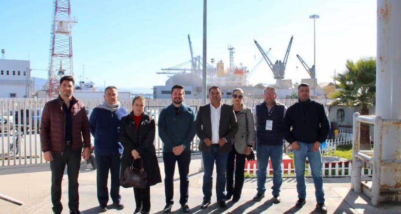 Estrecha Estado lazos institucionales con la Aduana Marítima de Ensenada