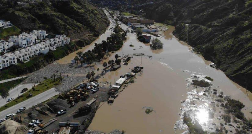 Autoridades plantean soluciones por inundaciones en el cañón del Matadero