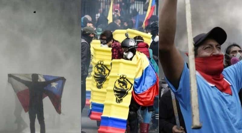 Estallido social prendió América Latina en 2019