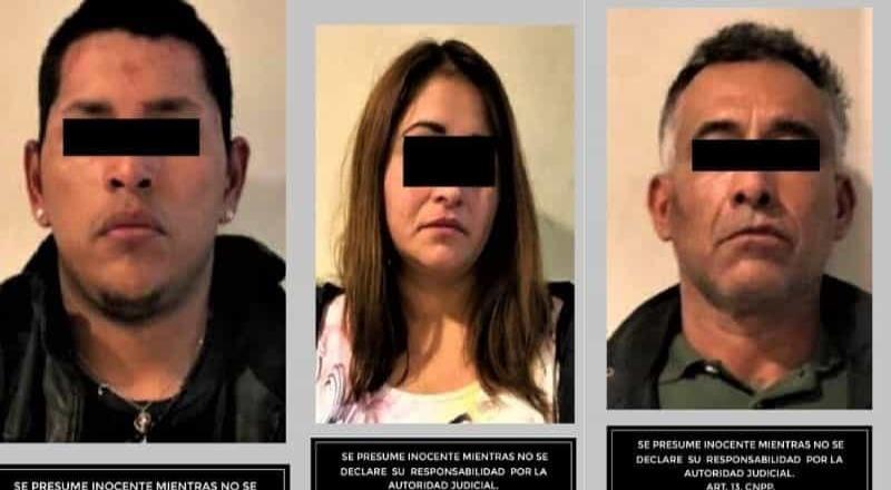 Detienen a presuntos delincuentes