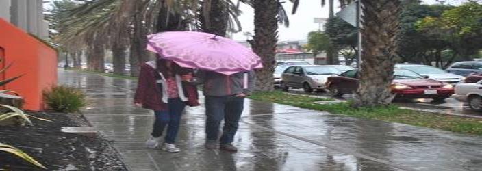 El 30 y 31 de diciembre habrá lluvias y bajas temperaturas