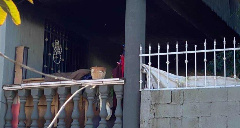 Encuentran cuerpo menor con huellas de violencia dentro de domicilio el cual se incendió