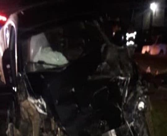 Chocan tres vehículos en Camalú