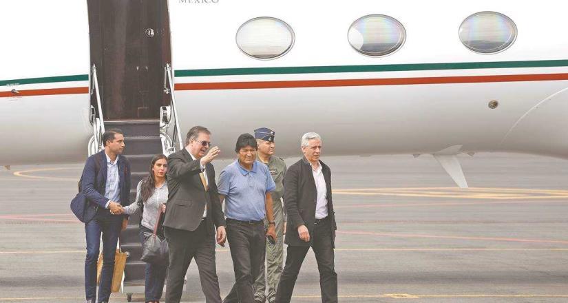 México gastó casi 2 mdp para traer a Evo Morales