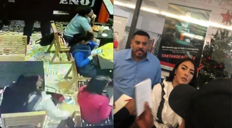 Captan a mujer robando cartera en cafetería de Coyoacán