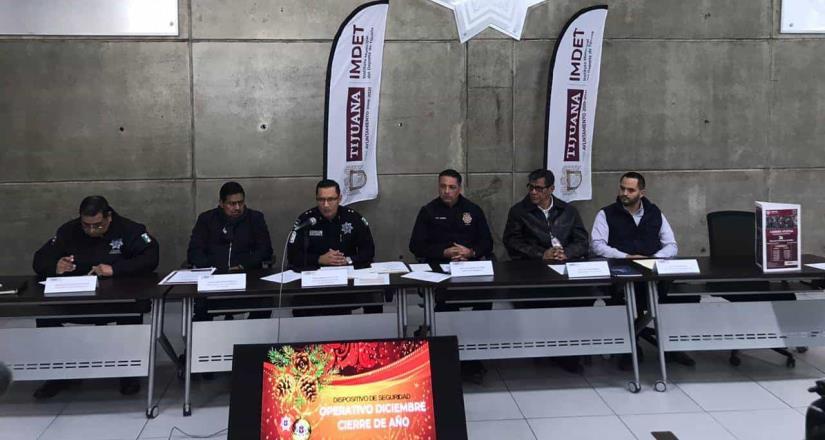 Anuncian la instalación de puntos preventivos en la ciudad para la víspera del 2020
