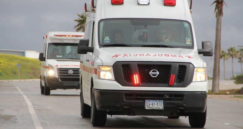 La Benemérita Cruz Roja de Rosarito emite recomendaciones por festejos de Año Nuevo.