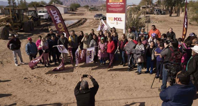 Inician las obras de pavimentación del XXIII Ayuntamiento en Mexicali