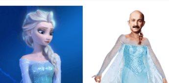 Elsa es protagonista del primer meme del año