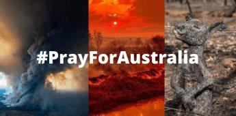 #PrayForAustralia  25 fotos para entender lo que sucede en Australia
