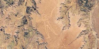 NASA comparte fotografía de la misteriosa figura de el Hombre de Marree