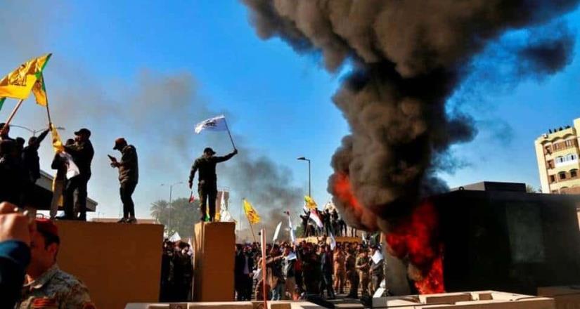 Se registra un nuevo ataque cerca de la embajada de EU en Irak