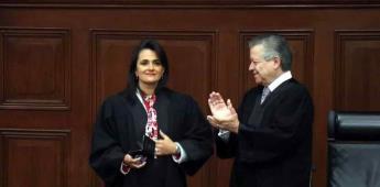 Asume Margarita Ríos-Farjat como nueva ministra de la Corte