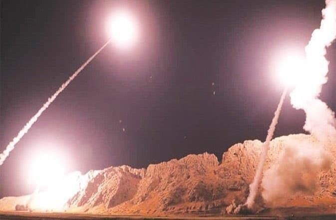 Irán ataca con misiles la base iraquí Al Asad