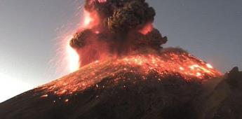 FOTOS  Erupción del Volcán Popocatépetl