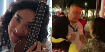 Por cantar en la calle, autoridades confiscan instrumentos de Flor Amargo