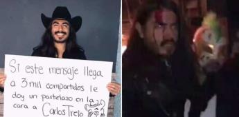 VIDEO|Carlos Trejo golpea a Rey Grupero por intentar hacerle una broma