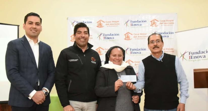 Fundación IEnova ha aportado 1.7 mdp al Asilo de Ancianos