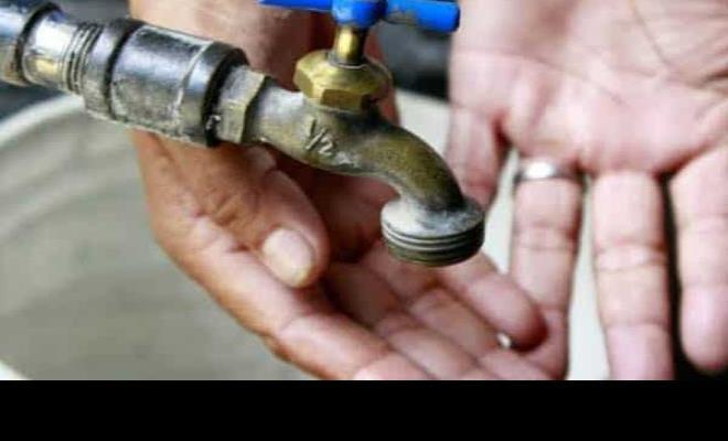 Mañana martes habrá corte de agua: CESPT
