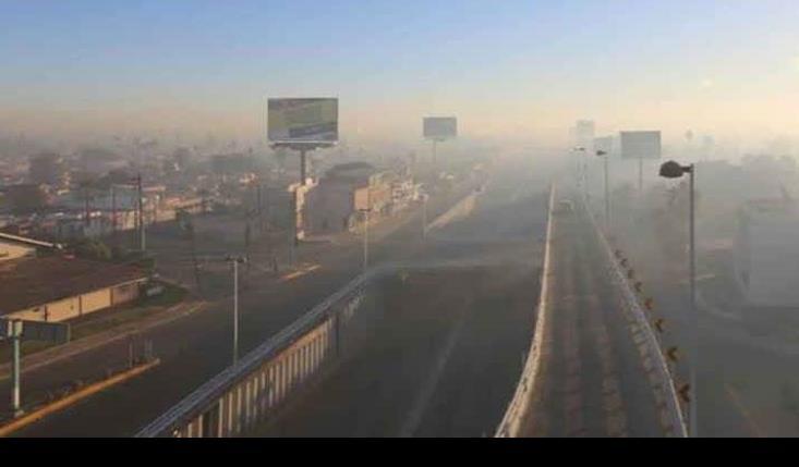Exhortan en Mexicali, evitar actividades físicas al aire libre por altos niveles de contaminación