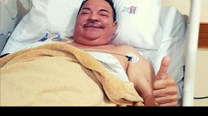 Julio Preciado se recupera de trasplante de riñón