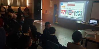 Imparten pláticas preventivas en primarias de San Quintín