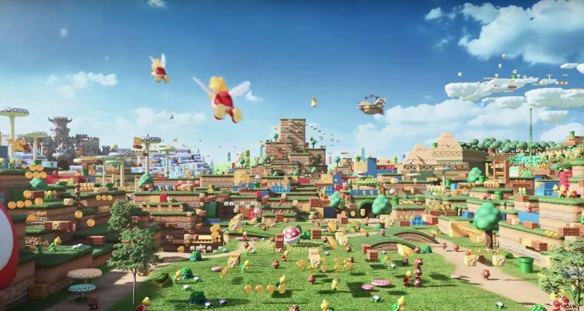 Super Nintendo World , la nueva atracción de Universal Studios en Japón