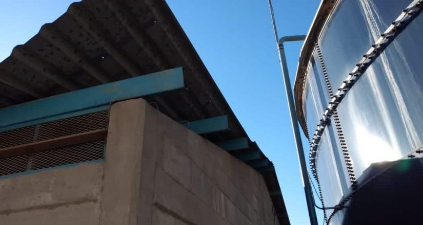 Foto nota| Queda reparado sistema de Bombeo