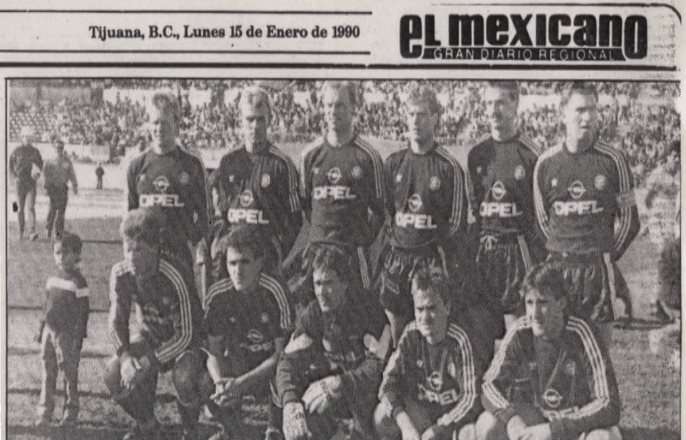 El día en que el Bayern Múnich empató con el Inter de Tijuana