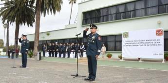Hay nuevo comandante en la Guarnición Militar de El Ciprés