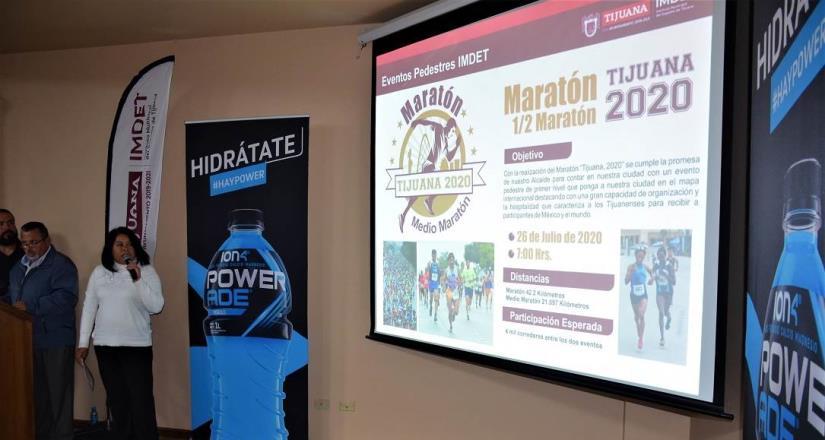 26 de julio, el Maratón de Tijuana