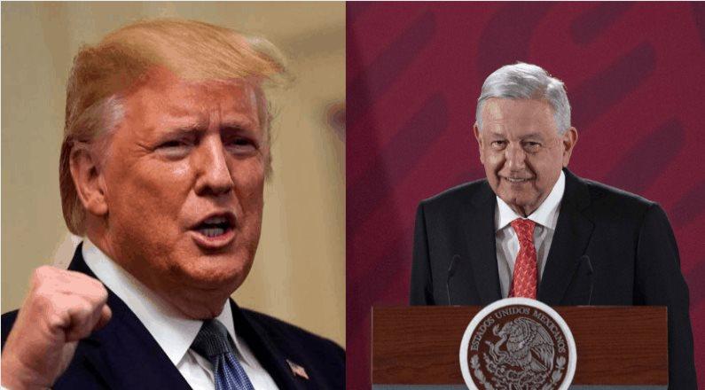 Agradece AMLO a Trump por aprobación de T-MEC