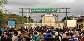 México cierra fronteras con Guatemala ante la llegada de caravanas migrantes