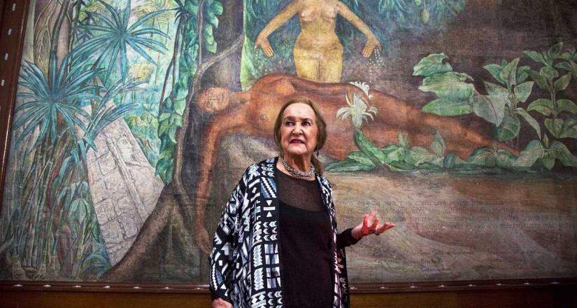 Exhibe el CECUT obras de caballete de dos grandes mujeres muralistas