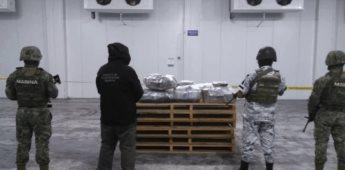 Marina asegura 124.5 kilos de cocaína proveniente de Ecuador
