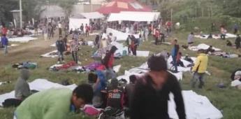 INM analiza carta de migrantes hondureños